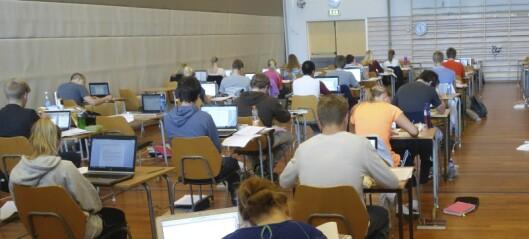 Eksamener i grunnskolen og skriftlige VGS-eksamener avlyses