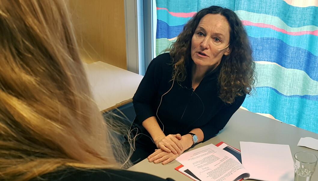 Folkehelsedirektør Camilla Stoltenberg.