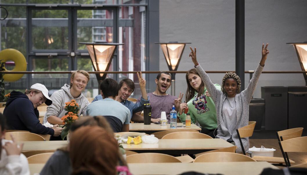Karakterene fra ungdomsskolen betyr mye for hvordan du får det på videregående, viser ny forskning fra Bergen. Illustrasjonsfoto: Werner Juvik