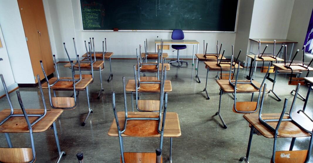 Det kan bli tomme klasserom i Oslo, også etter påske.