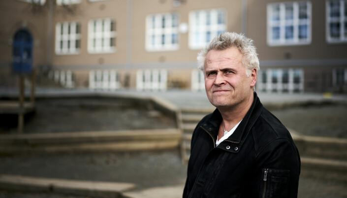 Sten Frode Solvang, rektor ved Singsaker skole i Trondheim. Foto: