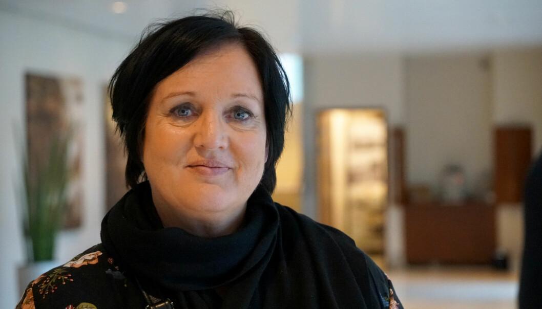 Leder i Utdanningsforbundet i Oslo, Aina Skjefstad Andersen, støtter sentralstyrets avgjørelse om ikke å streike i år.