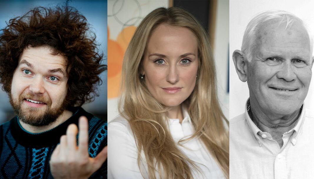 Jo Røislien, Vibeke Gwendoline Fængsrud og Svein Torkildsen gir noen tips til mattelærere i koronatider.