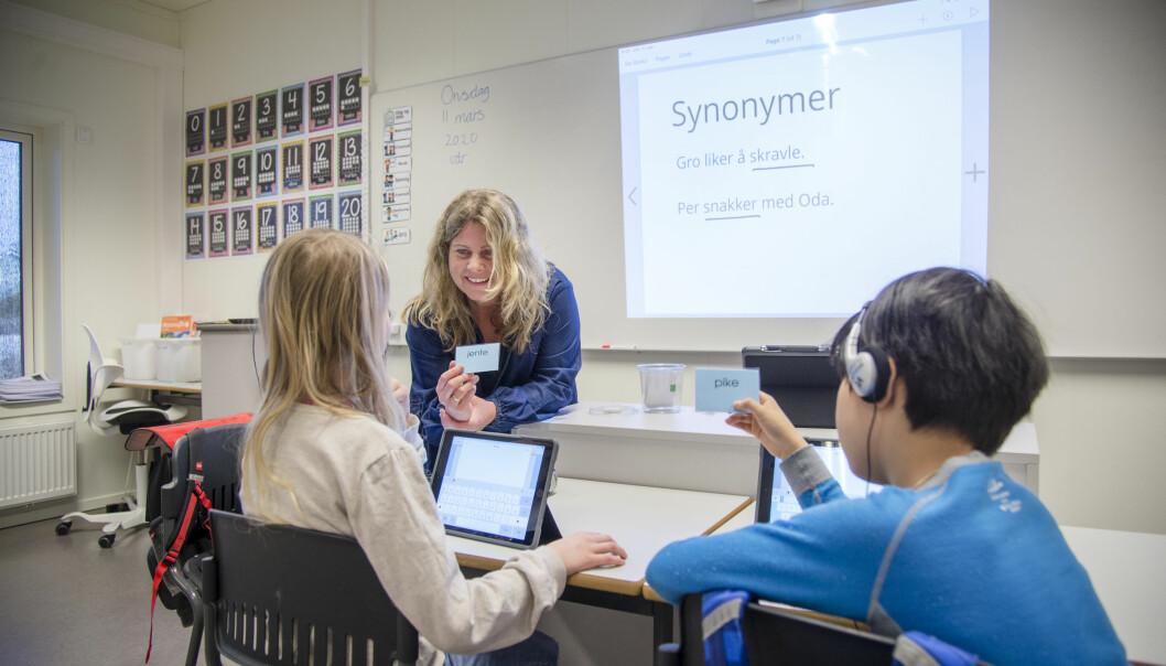 Lærer Gro Hareide Breen ved Solheim skole vet at det er krevende å følge opp kartleggingsprøvene i regning. – Det er veldig viktig at lærerne har støtte fra systemet til å gjennomføre kurs og veiledning i mindre grupper for dem som strever, sier hun.