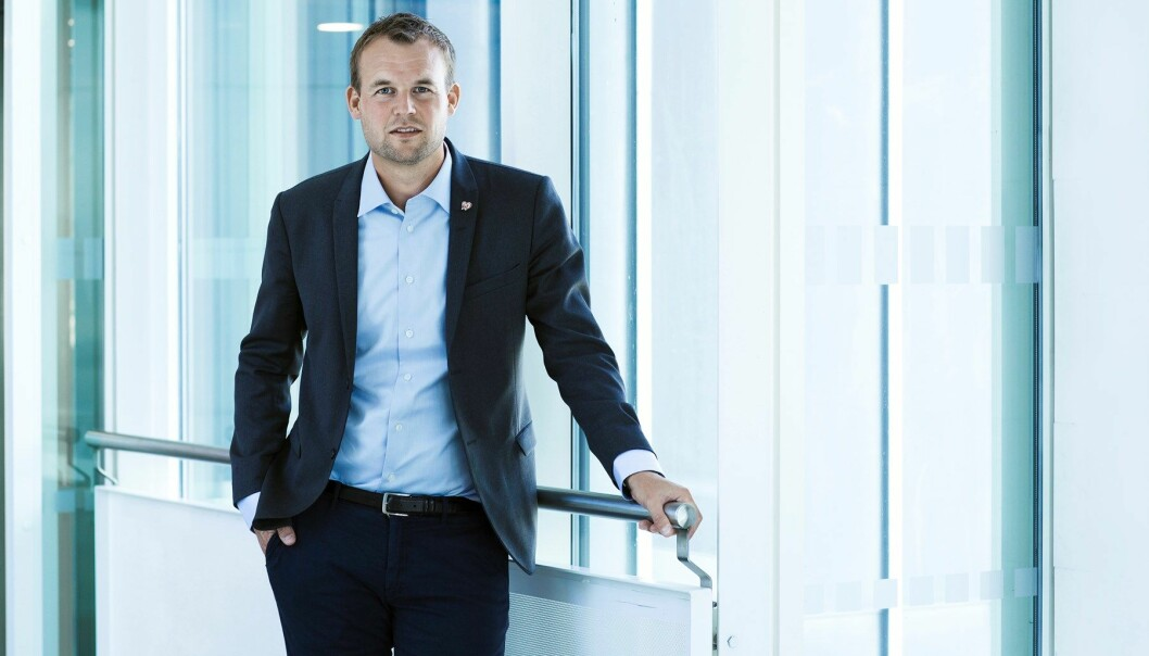 Barne- og familieminister Kjell Ingolf Ropstad (KrF).