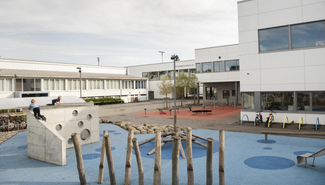 Skolegården på Eiganes skole i Stavanger kan snart blir full av barn igjen. Men kommunen ber om mer tid til å planlegge for åpning.