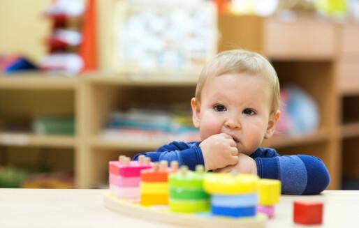 Dei yngste barnehagestartarane treng lengst tilvenningstid