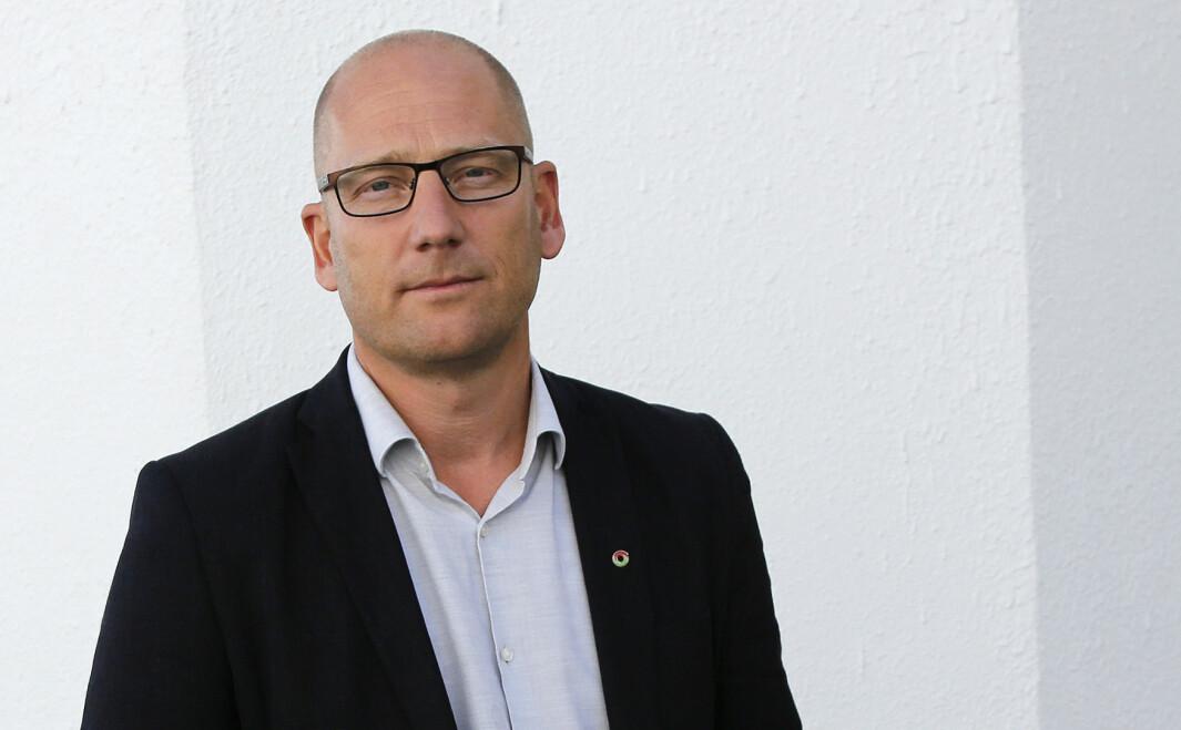 Steffen Handal er leder i Utdanningsforbundet