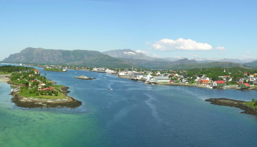 Brønnøysund i Brønnøy kommune.
