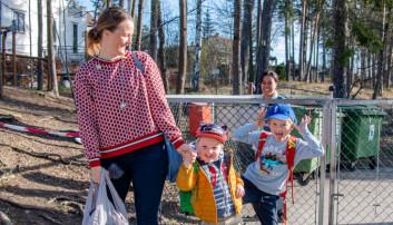 Barnehagene åpnet igjen:– Det er nesten som første skoledag