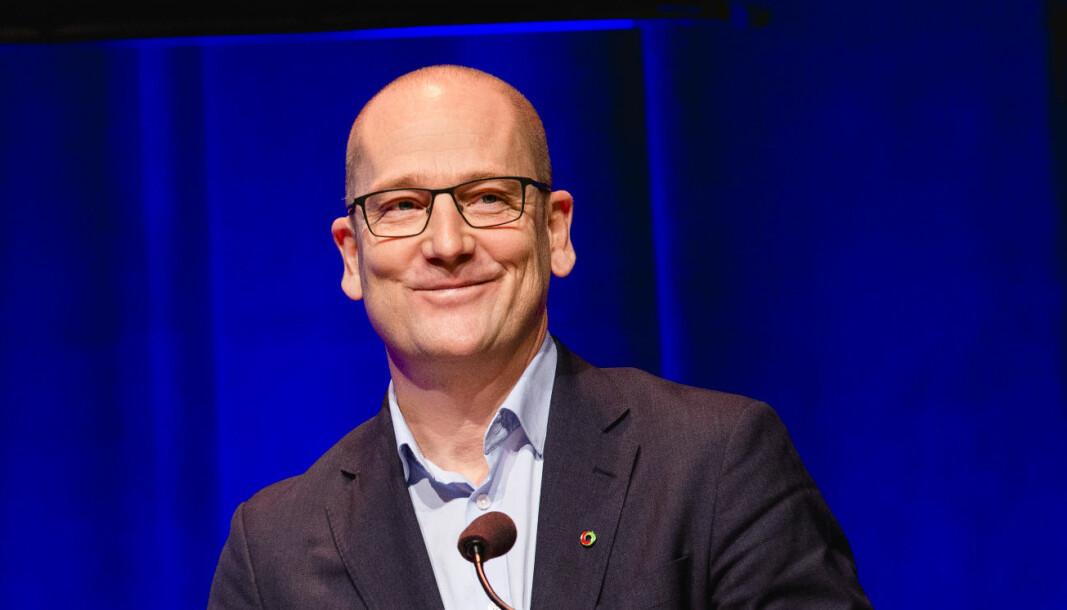 Steffen Handal, leder for Utdanningsforbundet.