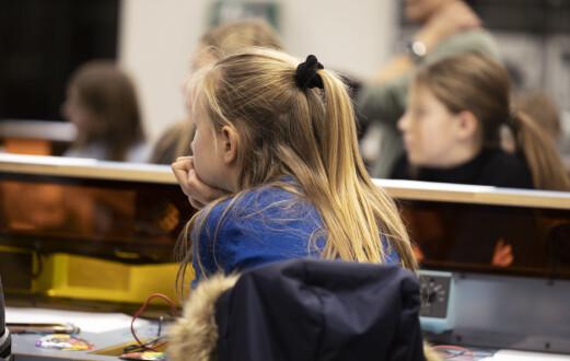 DEN NYE SKOLEHVERDAGENAnbefaler 15 elever per lærer i småskolen