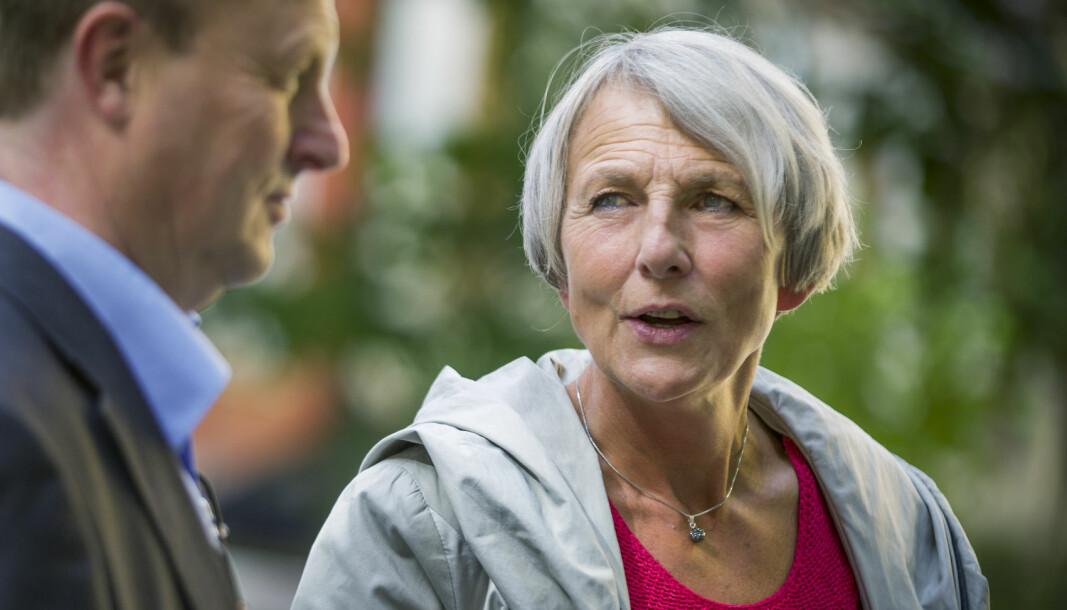 Leder i Skolenes Landsforbund, Anne Finborud.