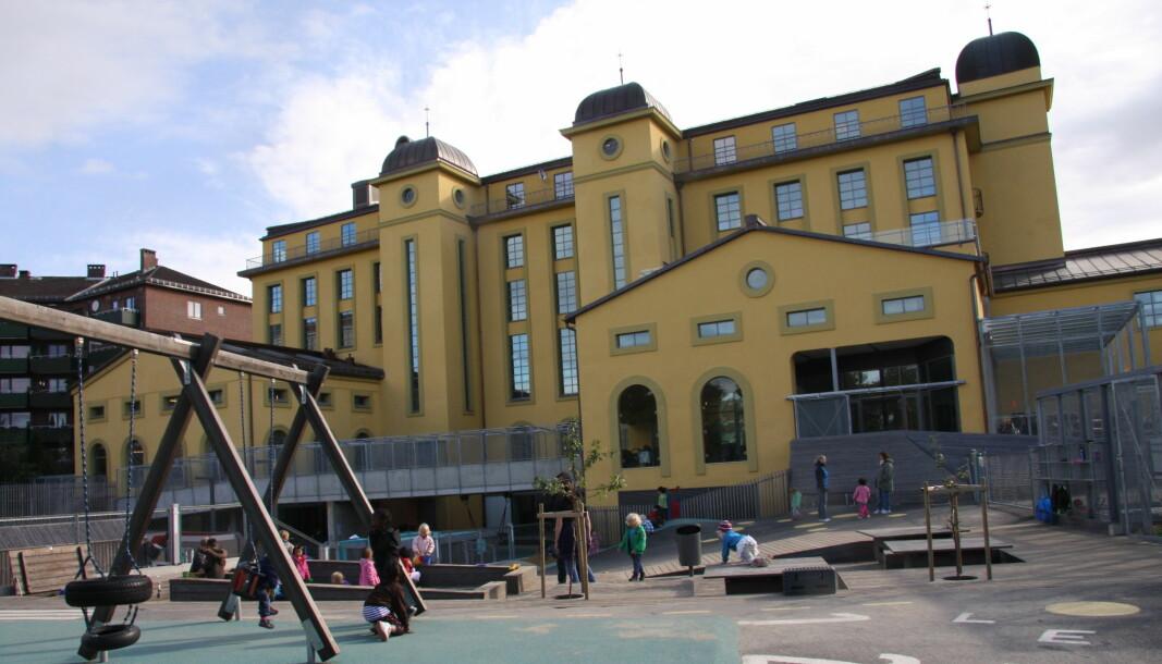 Margarinfabrikken barnehage, Norges største barnehage, er korona-stengt.