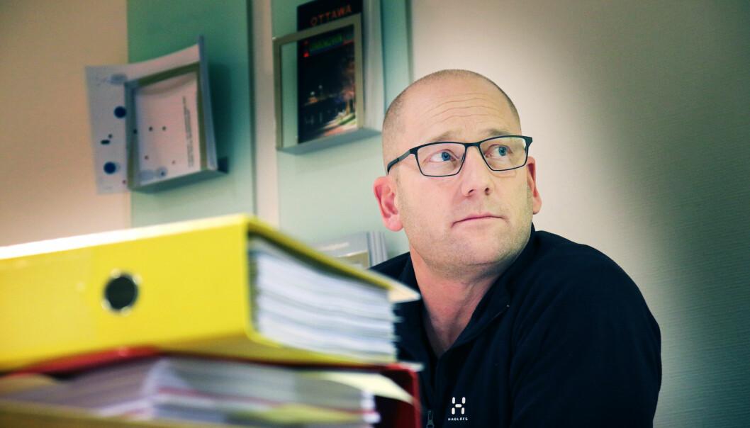 Utdanningsforbundets leder Steffen Handal.