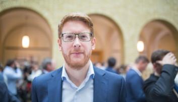 Arbeiderpartiets Martin Henriksen.