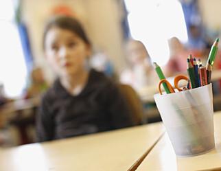 Hver femte førsteklassing møtte ikke på skolen i Oslo mandag