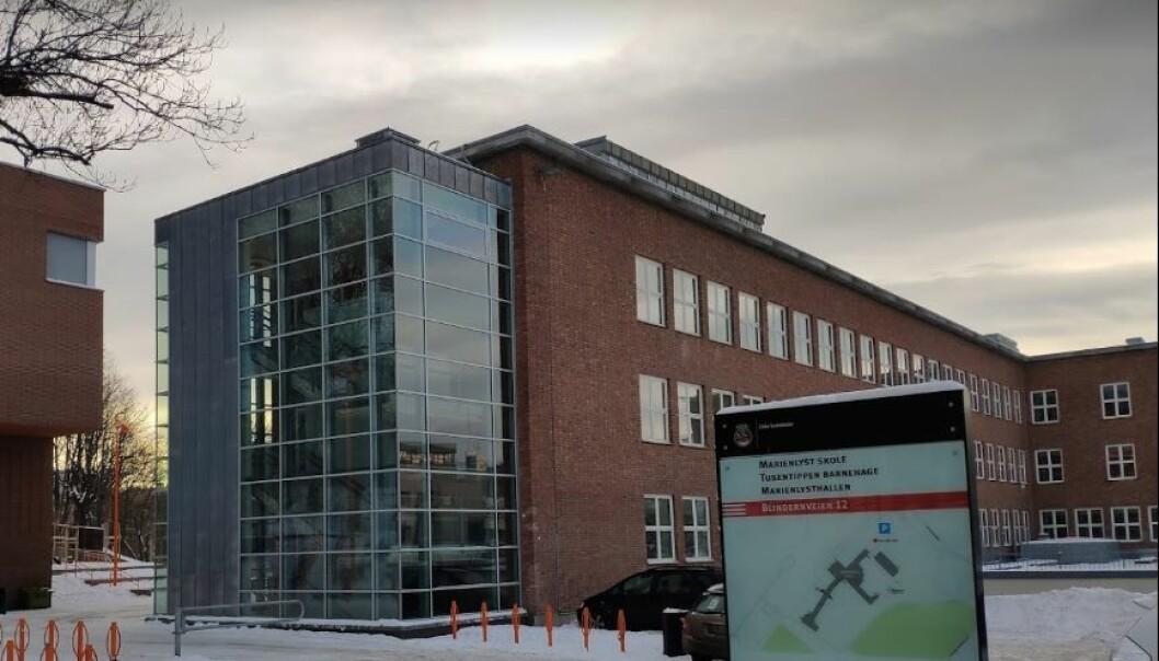 Marienlyst skole.