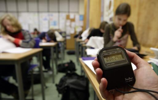 Stortinget sa nei til å gjøre nasjonale prøver til utvalgsprøver