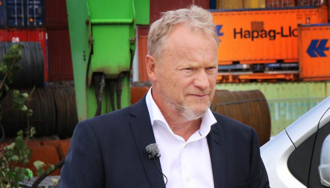 Byrådsleder Raymond Johansen (Ap.