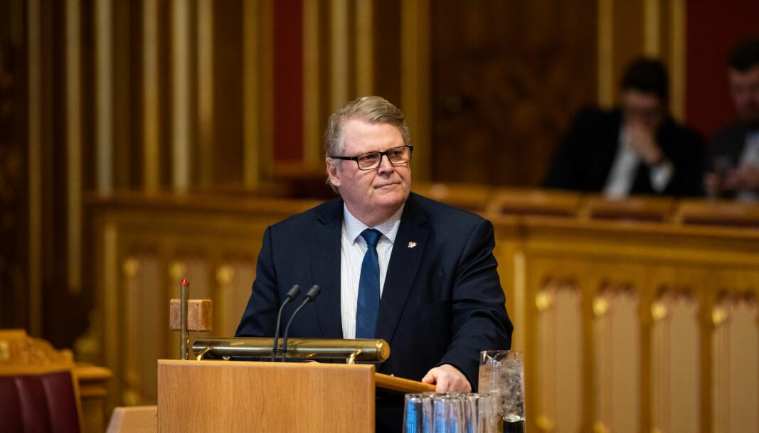 Hans-Fredrik Grøvan (KrF)) er klar til å forhandle om ny inntaksmodell.