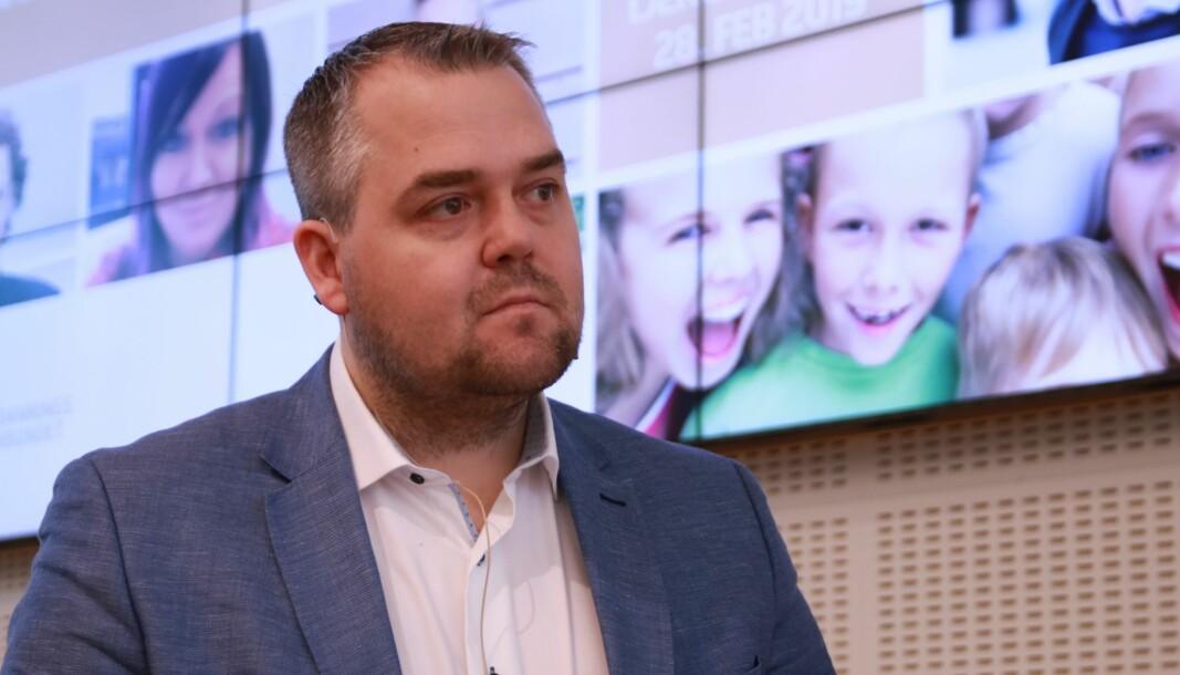 Leder for Utdannings- og forskningskomiteen på Stortinget, Roy Steffensen (Frp).