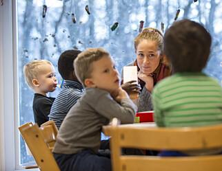 Bare én av ti barnehager får ressurser til å dekke ekstrakostnader