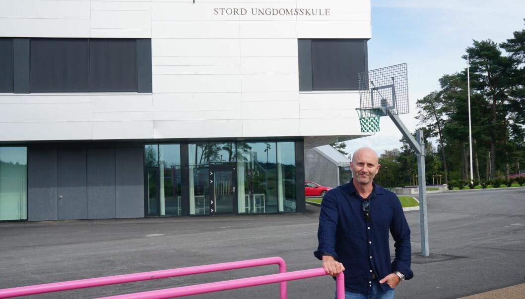 Nå gleder jeg meg til klasserom og uteområder tas i bruk, sier rektor Rune Valvatne Ask