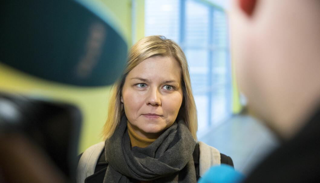 Kunnskapsminister Guri Melby (V).