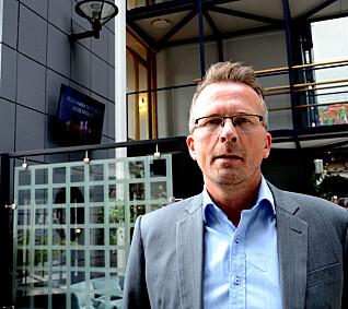 Geir Røsvoll, leder for Utdanningsforbundet Trøndelag .