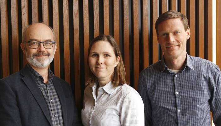 Fra venstre: Assiserende avdelingsdirektør i Utdanningsetaten i Oslo, Bjarte Rørmark, Spesialrådgiver Lene Karin Wiberg i KS og fagkonsulent Brian Jørgensen i Udanningsetaten i Oslo.