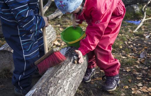 Regjeringen vil endre setning i barnehageloven om at pengene skal komme barna til gode