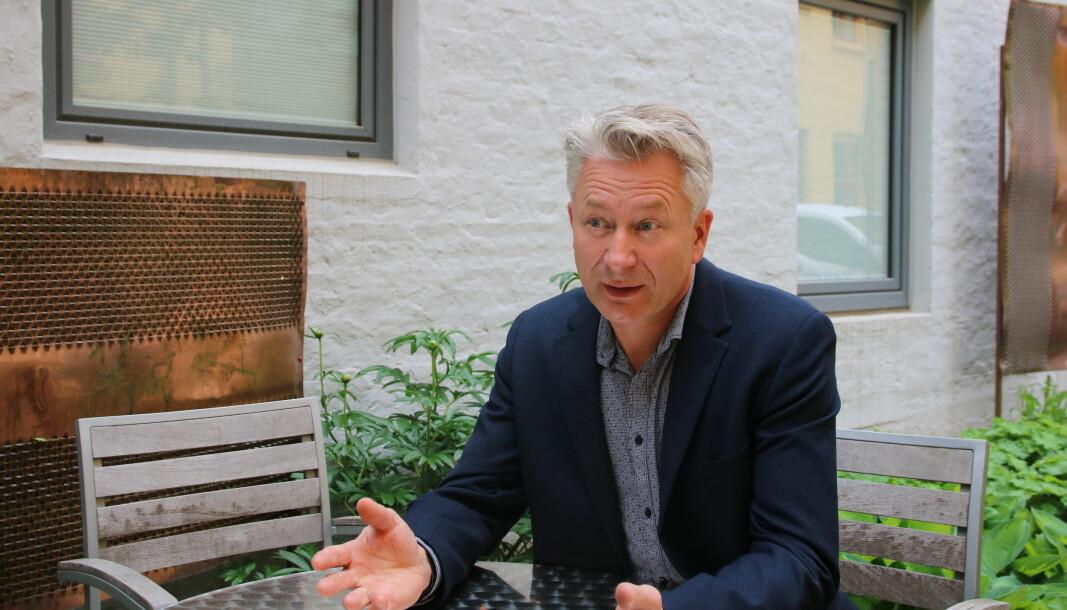 Tormod Korpås, sentralstyremedlem og leder av sentralt lederråd i Utdanningsforbundet.