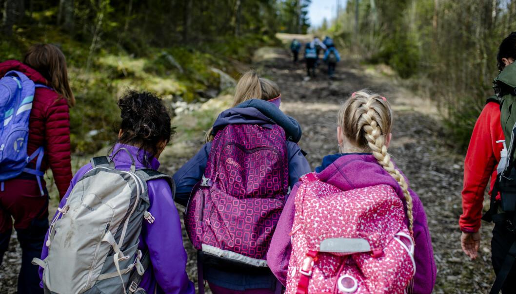 Ikke en krone ekstra til skolene, der vi gjør alt vi kan for å ivareta flotte og gode barn og ungdommer, skriver Kjartan Espeland.