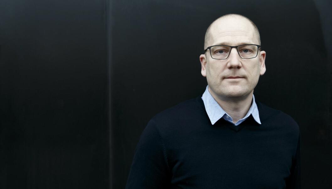 Steffen Handal, leiar i Utdanningsforbundet.