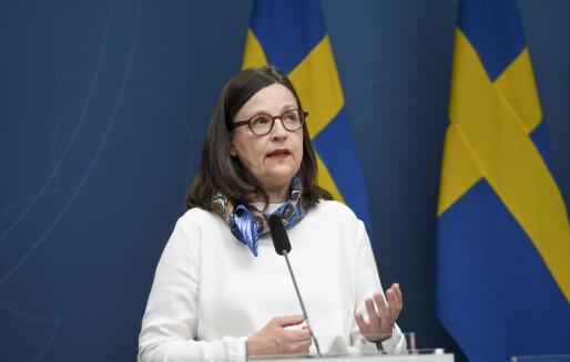 Videregående skoler og høgskoler i Sverige gjenåpnes