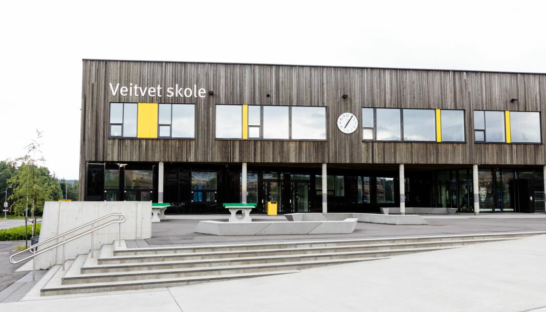 Veitvet skole i Oslo. Foto: Audun Braastad / NTB scanpix