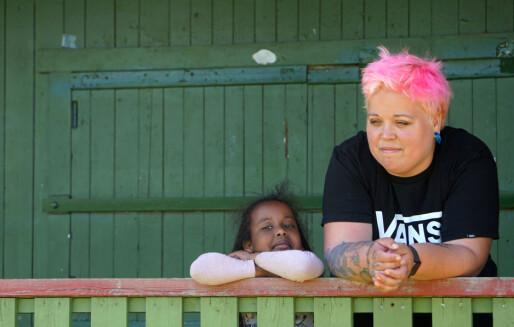 I Lakkegården barnehage er det friluftsaktiviteter fem dager i uka