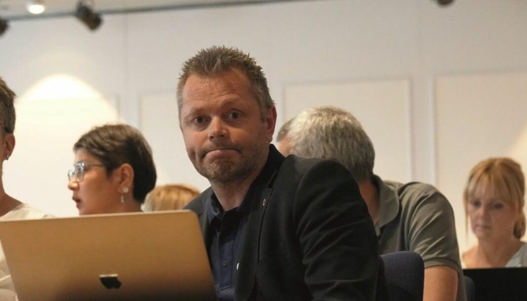 Steinar Strømsli takket for tilliten etter å ha blitt valgt til leder for Utdanningsforbundet Vestland