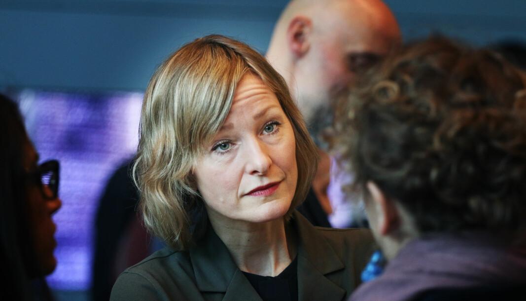 Byråd for oppvekst i Oslo, Inga Marte Thorkildsen (SV) .