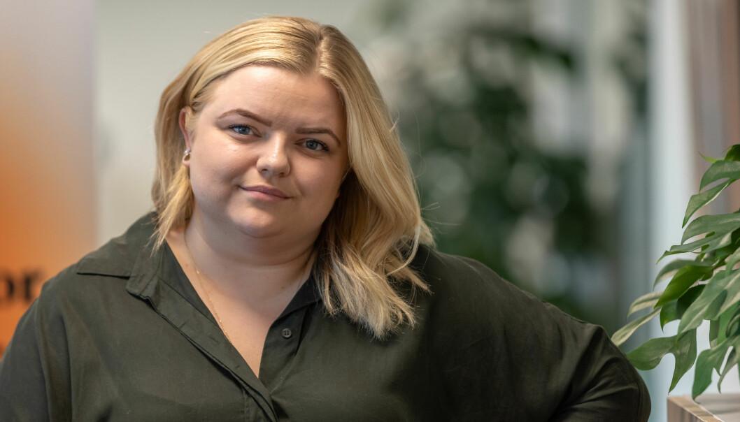 Elise Håkull Klungtveit, påtroppende leder av Pedagogstudentene.