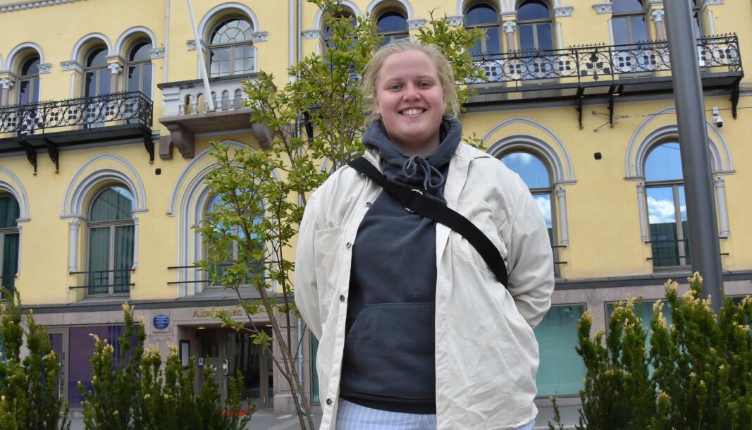 Martine Kristoffersen er Oslo-jente og var elev på Etterstad videregående før hun ble lærling.