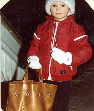 Tore Petterson likte å kle seg ut som barn