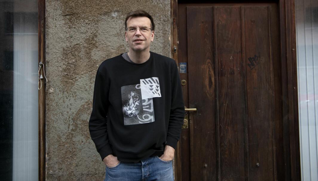 Bjørn Revil, gruppeleder for FNB i bystyret i Oslo.