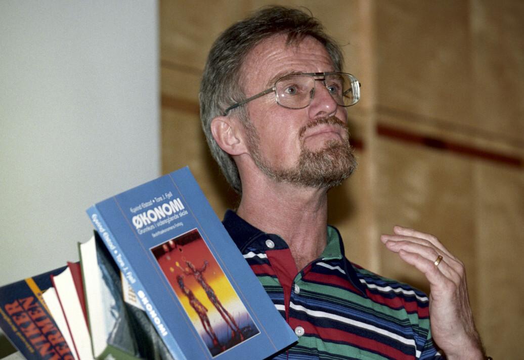 Gudmund Hernes på pressekonferanse om Reform 94.