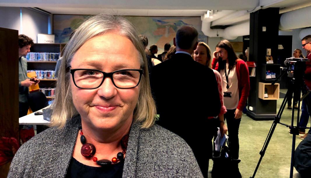 Lektorlagets leder Rita Helgesen.