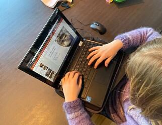 Snur om datamaskiner til de yngste elevene