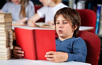Elever på mellomtrinnet skal få bedre hjelp med lesing