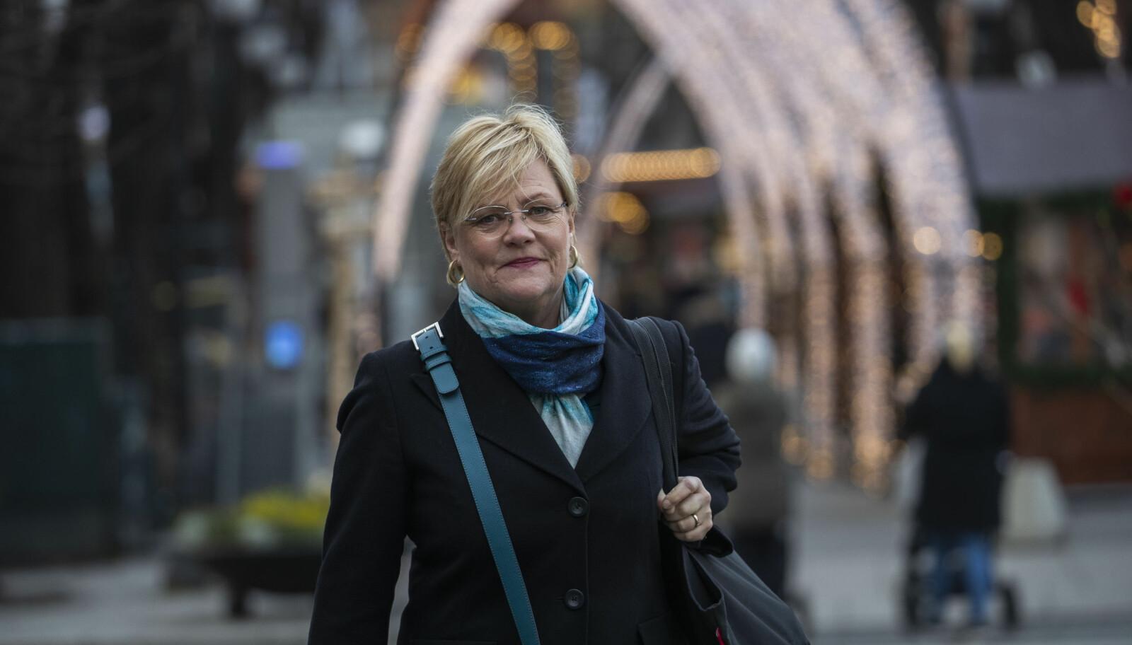 Tidligere kunnskapsminister Kristin Halvorsen.