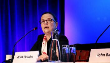 Anne Ekström, Sveriges Utdanningsminister